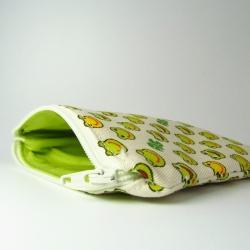 frog coin purse interior