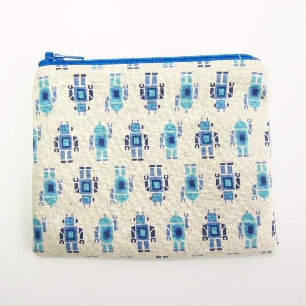 robots coin purse